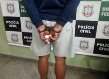 Homem preso suspeito de abusar sexualmente de cinco irmãos no Itapoã, no Distrito Frederal (foto: Isabella Calzolari/G1)