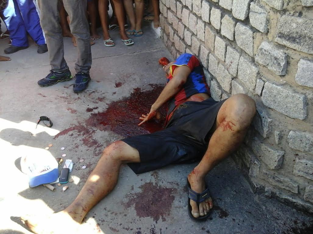 Acusado de assalto foi morto após roubar ônibus. (Foto: AL24hs)