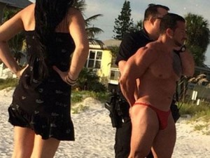 Caballero já passou oito anos na cadeia por tráfico de drogas (Foto: Reprodução/Twitter/Busted Coverage )