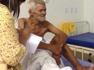 José Benedito recebeu os primeiros cuidados médicos.