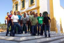 Grupo que embarcou para a cidade de Piranhas.