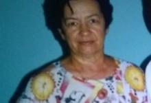 Francisca Maria Neves sofre de Alzheimer e desapareceu em Marechal Deodoro, município onde reside.