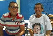 Aniversariantes Gel e Miguelzinho. (foto: Arquivo MN)