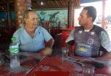 Paulino Lopes conversou com o redator do MN, André Marechal. (Foto: Luis Felipe)