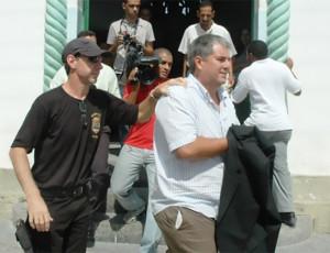 CELSO LUIZ É VELHO CONHECIDO DA PF. FOI PRESO EM 2007 NA OPERAÇÃO TATURANA (EXTRA/ARQUIVO)