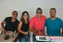 Glebson Lima e banda Forró na Vêia. (Foto: arquivo MN)