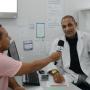 Dr. Henrique Marques falou sobre o funcionamento da UPA. (Foto: Gabriel Monteiro)