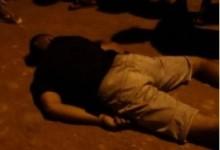 Kevinho, de 23 anos, morreu no local do crime