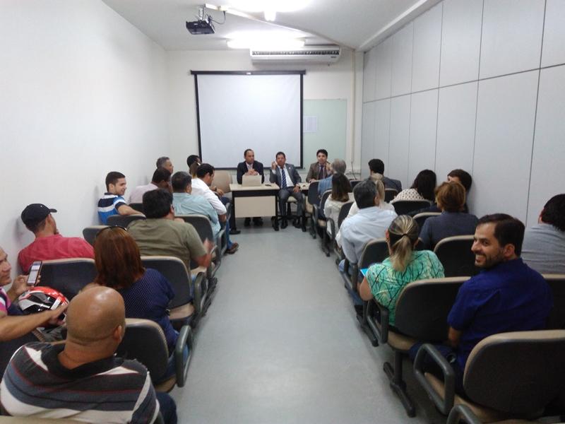 Reunião aconteceu no auditório do IFAL. (Foto: André Marechal)