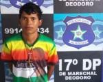 Willamis da Silva, também conhecido como Mata Marido, foi preso em Marechal Deodoro