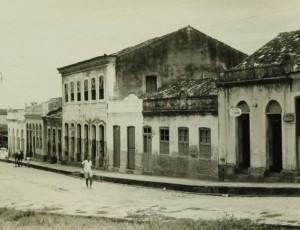 Rua Barão de Penedo com a Praça Pedro paulino. (Foto: Iphan)