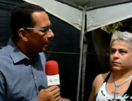 André Marechal conversou com o cantor Remy Ruan. (Imagem; Gabriel Monteiro)
