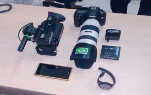 Material foi encontrado na casa dos suspeitos (Crédito: Ascom PC)
